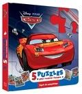 Hachette Jeunesse - Cars - Mon petit livre puzzle - 5 puzzles 9 pièces.