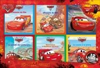 Hachette Jeunesse - Coffret Cars - 12 livres d'histoires et coloriages.