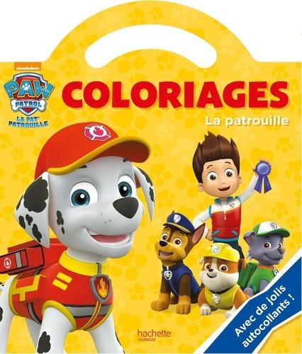 Cahier Coloriage Pat Patrouille.Coloriage Paw Patrol La Pat Patrouille La Patrouille Avec De Jolis Autocollants