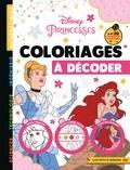 Hachette Jeunesse - Coloriages à décoder Disney Princesses.