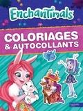Hachette Jeunesse - Coloriages & autocollants Enchantimals.