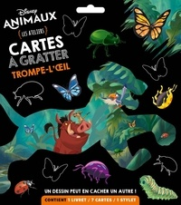 Lemememonde.fr Disney animaux - Les ateliers cartes à gratter trompe-l'oeil Image