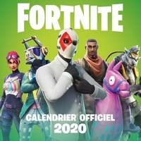 Hachette Jeunesse - Fortnite - Calendrier officiel 2020.