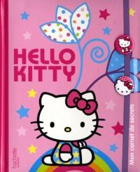 Hachette Jeunesse - Hello Kitty - Mon carnet de secrets - Avec deux badges Hello Kitty.