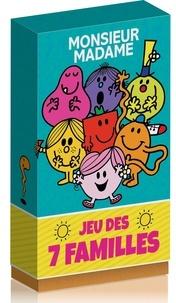 Hachette Jeunesse - Jeu des 7 familles Monsieur Madame.