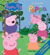Hachette Jeunesse - La famille de Peppa - Contient 6 albums.