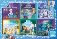 Hachette Jeunesse - La Reine des Neiges - Coffret 6 histoires + 6 coloriages.