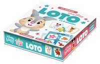 Hachette Jeunesse - Loto les animaux - 1 à 4 joueurs.