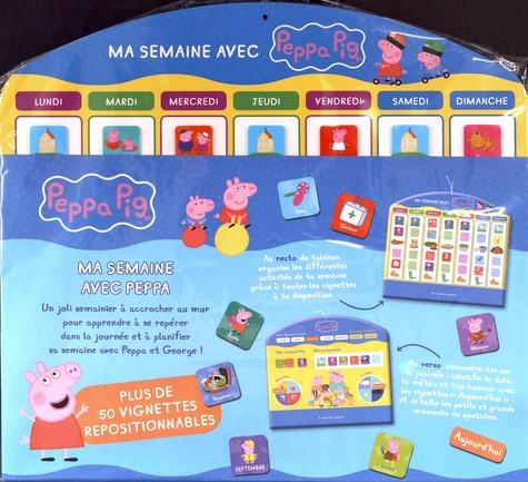 Ma Semaine Avec Peppa Pig Plus De 50 Vignettes De Hachette Jeunesse Livre Decitre
