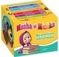 Hachette Jeunesse - Masha et Michka  : Ma première bibliothèque.