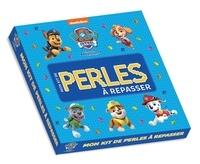 Hachette Jeunesse - Mon kit de perles à repasser La Pat' Patrouille - Avec 1 lot de perles, 1 plaque pour positionner les perles.