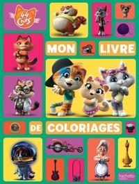 Goodtastepolice.fr Mon livre de coloriages 44 chats Image