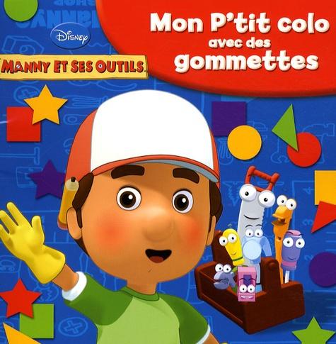 Hachette Jeunesse - Mon p'tit colo avec des gommettes.