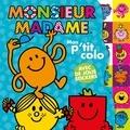 Hachette Jeunesse - Mon p'tit colo Monsieur Madame - Avec de jolis stickers.