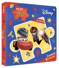 Hachette Jeunesse - Mon petit livre puzzle Disney - Les véhicules.