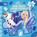 Hachette Jeunesse - Mon petit livre puzzle La Reine des Neiges.