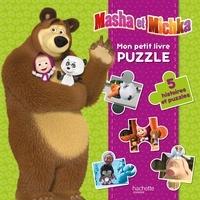 Hachette Jeunesse - Mon petit livre puzzle Masha et Michka - 5 histoires puzzle.