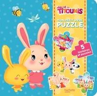 Hachette Jeunesse - Mon petit livre puzzle Titounis.