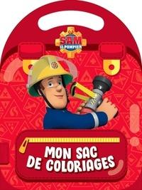 Hachette Jeunesse - Mon sac de coloriages Sam le Pompier.
