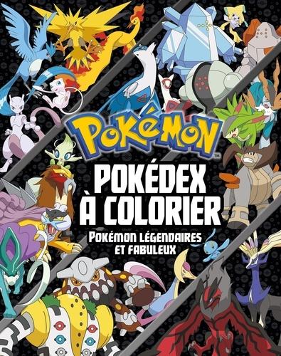 Pokédex à Colorier Pokémon Légendaires Et Fabuleux Grand Format