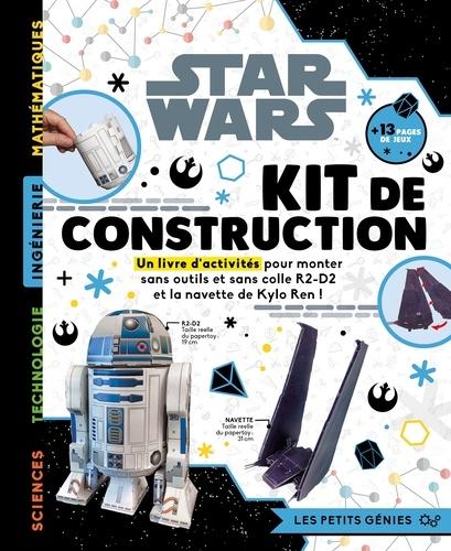 Star Wars Kit De Construction Un Livre D Activites Pour Monter Sans Outils Et Sans Colle R2 D2 Et La Navette De Kylo Ren Grand Format