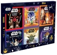Hachette Jeunesse - Star Wars - Coffret 12 livres d'histoires et jeux.