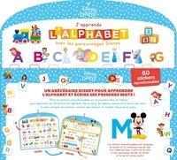 Hachette Jeunesse - Tableau d'éveil J'apprends l'alphabet - Avec 60 stickers repositionnables.