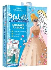 Hachette Jeunesse - Tableaux à strass Bal masqué.