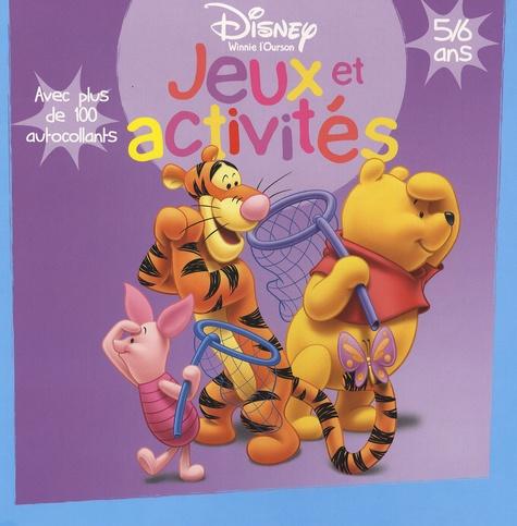 Hachette - Jeux et activités avec Winnie l'ourson - 5/6 Ans.