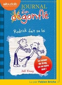 Jeff Kinney - Journal d'un dégonflé Tome 2 : Rodrick fait sa loi. 1 CD audio MP3