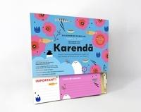 Hachette - Karenda - Calendrier familial comme au Japon septembre 2021-décembre 2022. Avec 1 kakébo et 1 crayon.