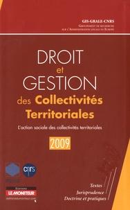 GRALE - L'action sociale des collectivités territoriales.