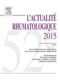 Marcel-Francis Kahn et Thomas Bardin - L'actualité rhumatologique 2015.