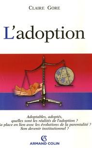Claire Gore - L'adoption.