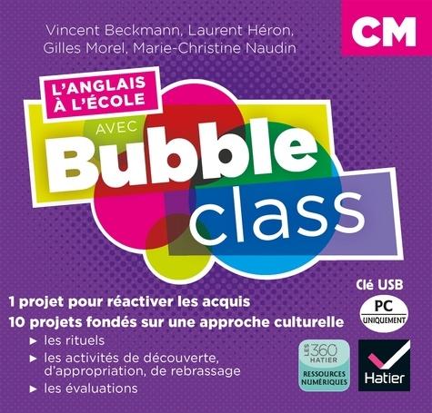Vincent Beckmann et Laurent Héron - L'anglais à l'école avec Bubble class CM. 1 Clé Usb