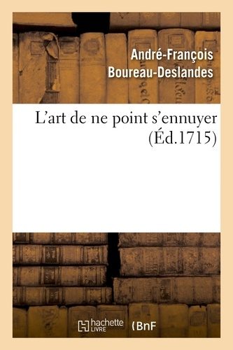 L'art de ne point s'ennuyer