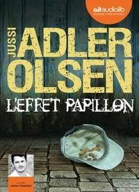 Jussi Adler-Olsen - L'effet papillon - La cinquième enquête du Département V. 1 CD audio MP3