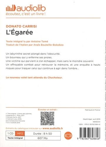 L'Egarée  avec 1 CD audio MP3