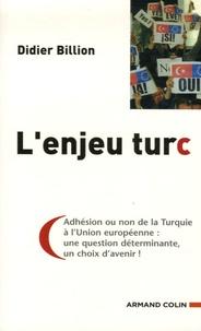 Didier Billion - L'enjeu Turc.