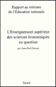 Jean-Paul Fitoussi - .