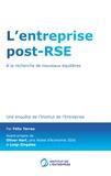 Félix Torres - L'entreprise post-RSE - A la recherche de nouveaux équilibres.