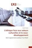 Claude Thomas - L'éthique face aux valeurs culturelles et le sous-développement.