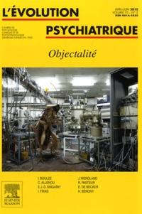 C Allenou et I Boulze - L'évolution psychiatrique N° 2 Volume 75, Avri : Objectalité.