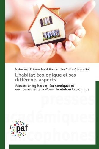Mohammed El Amine Boukli Hacene et Nasr Eddine Chabane Sari - L'habitat écologique et ses différents aspects - Aspects énergétiques, économiques et environnementaux d'une Habitation Ecologique.