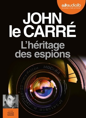 John Le Carré et Vincent Schmitt - L'heritage des espions. 1 CD audio MP3