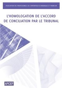 Lhomologation de laccord de conciliation par le tribunal.pdf