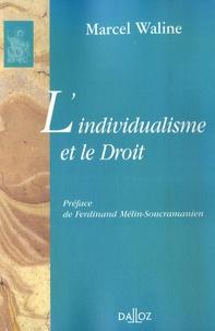 Jean Waline - L'individualisme et le Droit.