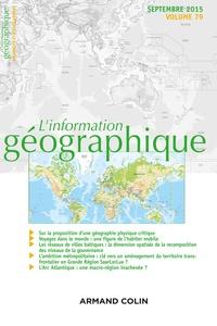 Isabelle Lefort - L'information géographique N° 79, septembre 201 : .