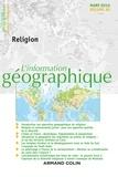 Maud Lasseur - L'information géographique N° 80, mars 2016 : Religion.