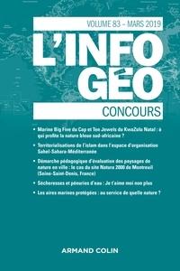 Isabelle Lefort et Hervé Regnauld - L'information géographique N° 83, mars 2019 : Concours.